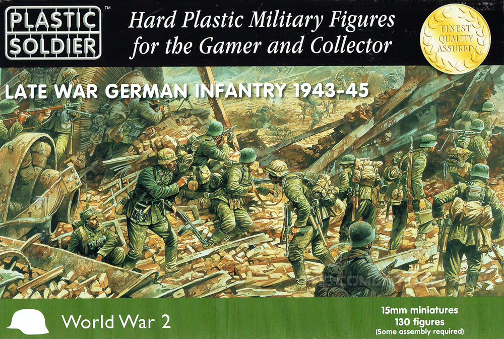 Plastic Soldier Company 15mm Scale German Late War Infantry box set