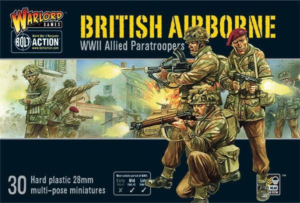 Warlord Games Bolt Action Plastic British Airborne Box set
