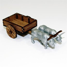 Pesants Ox Cart