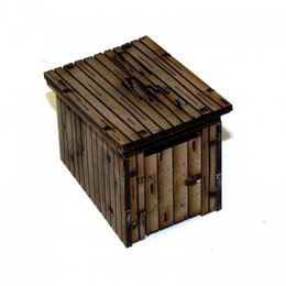 4G 28mm Wooden Water ClosetDam