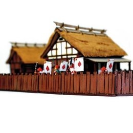 Shogunate Village Wooden Fences