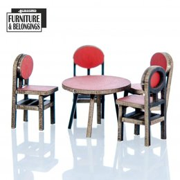 Food Court Table and Chairs
