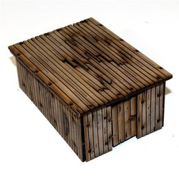 Damageable Wooden Out House Stores