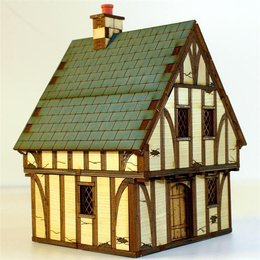 Old Timber Framed Cottage #1
