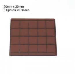 Brown Square 20mm