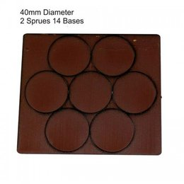 Brown Round 40mm