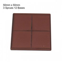 Brown Square 50mm
