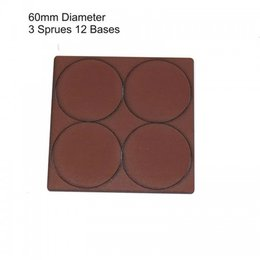 Brown Round 60mm