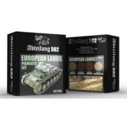 European Lands Pigment Set