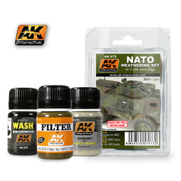 AK-073 Nato Weathering Set