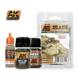 AK-120 OIF & OEF Weathering Set
