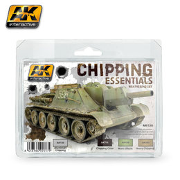AK-138 Chipping Essentials Weathering Set