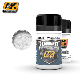 AK-142 Pigment - White Ashes