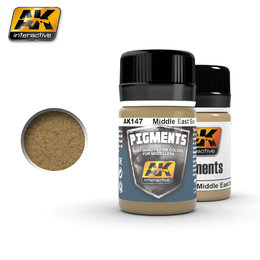 AK-147 Pigment - Middle East Soil