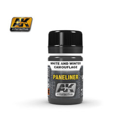 AK-2074 Paneliner for White & Winter Camoflage
