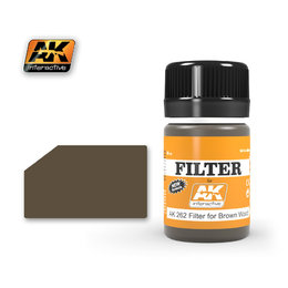 AK-262 Filter for Brown Wood
