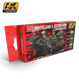 AK-3250 - Woodland and Flektarn Camo Set