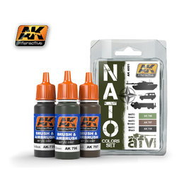 AK-4001 Nato Paint Set