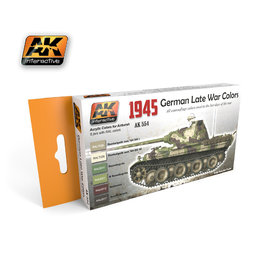 AK-554 German Late War 1945 Colours Set