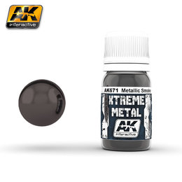 AK-671 Metallic Smoke