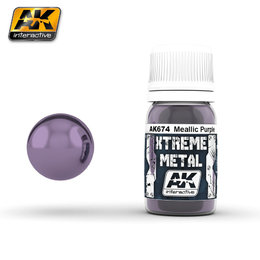 AK-674 Metallic Purple