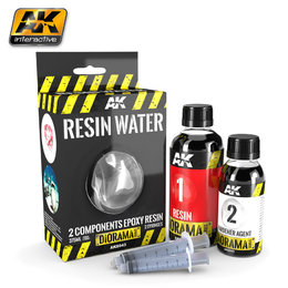 AK-8043 Water Effects - Resin Water 375ml