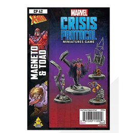 Marvel Crisis Protocol Miniatures Game Magneto and Toad