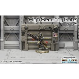 Infinity High Security Gate (Narrow)