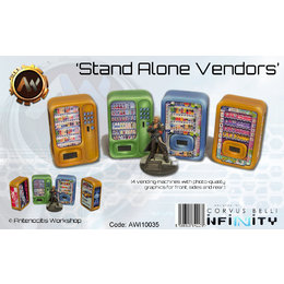 Infinity Stand Alone Vending Machines