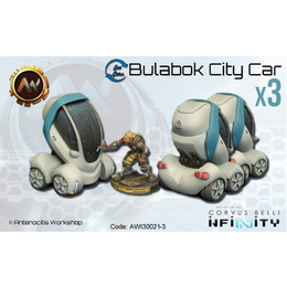 Infinity Bulabok City Car - Parked