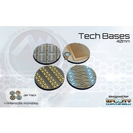 Tech Round Bases 40mm