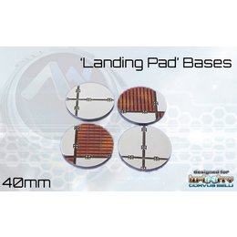 Landing Pad Round Bases 40mm