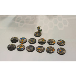 Arabesque Bases 25mm