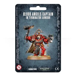 Blood Angels Captain In Terminator Armour (GW Webstore Direct)
