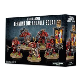 Blood Angels Terminator Assault Squad (GW Webstore Direct)