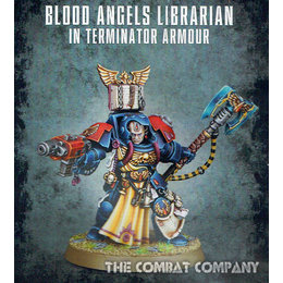 Blood Angels Terminator Librarian (GW Webstore Direct)