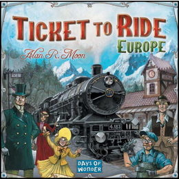 Ticket to Ride Europe - Core Board Game