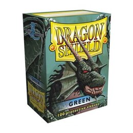 Sleeves - Dragon Shield - Box 100 - Green