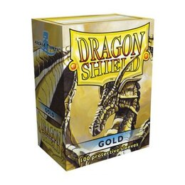 Sleeves - Dragon Shield - Box 100 -  Gold