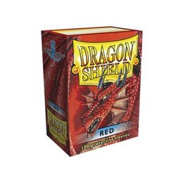 Sleeves - Dragon Shield - Box 100 - Red