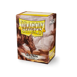 Sleeves - Dragon Shield - Box 100 - Brown