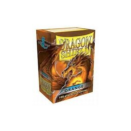 Sleeves - Dragon Shield - Box 100  - Orange