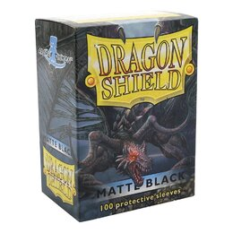Sleeves - Dragon Shield - Box 100 - Black MATTE