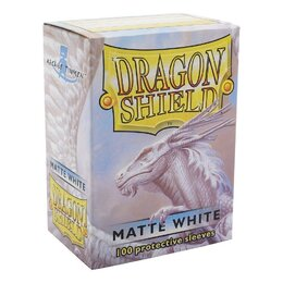 Sleeves - Dragon Shield - Box 100 - White MATTE
