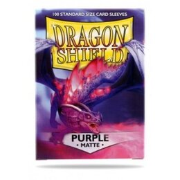 Sleeves - Dragon Shield - Box 100 - Purple MATTE