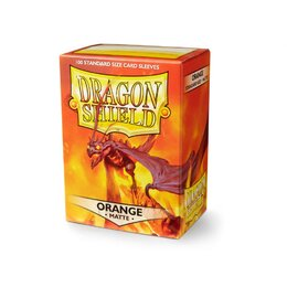 Sleeves - Dragon Shield - Box 100 - Orange MATTE