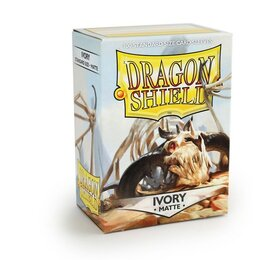 Sleeves - Dragon Shield - Box 100 - Ivory MATTE