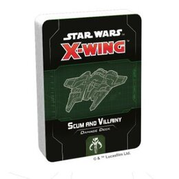 X-Wing Scum & Villainy Damage Deck