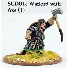 SCD01c Crusader on Foot w/double handed axe