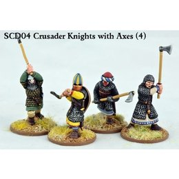 SCD04 Crusader Knights with Double Handed Weapons